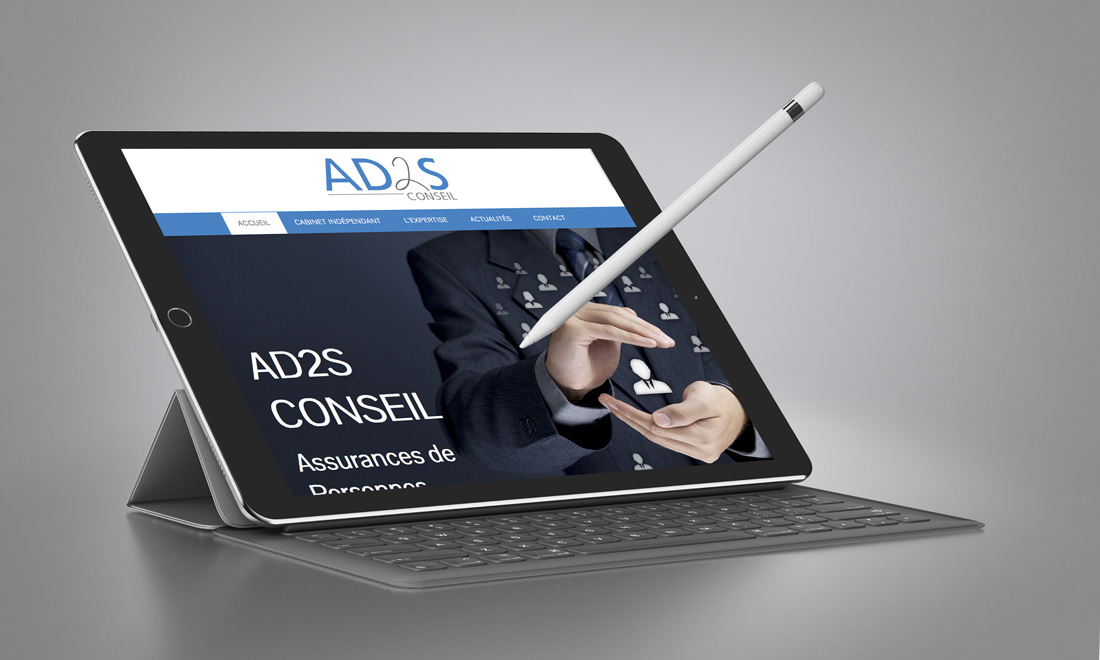 Useful - Portfolio AD2S-Conseil - Site Internet