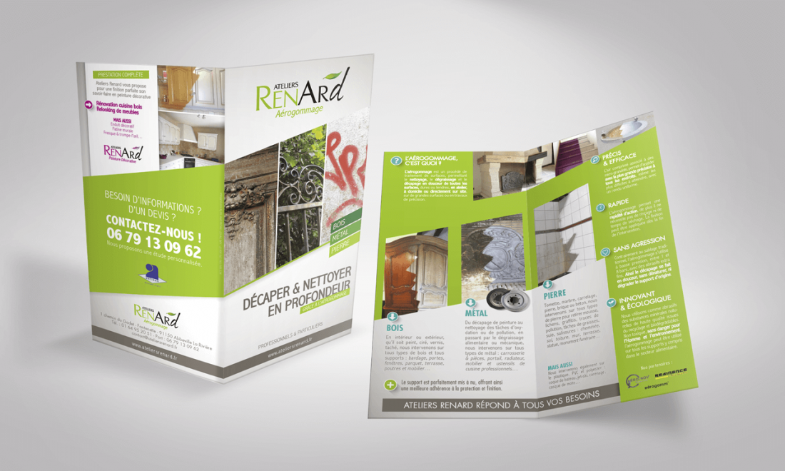 Useful - Portfolio Ateliers Renard - Flyer